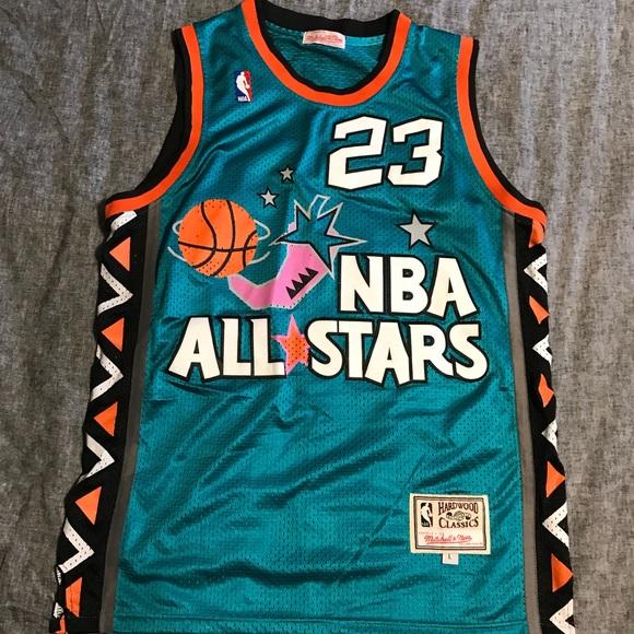 lowest price f6dfd 94b97 Mitchell and Ness Jordan 1996 All Star Jersey